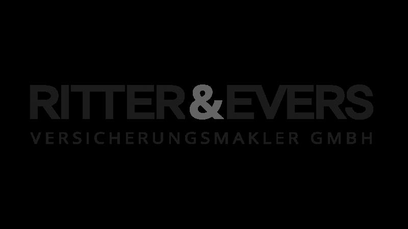 Logo des Versicherungsmarklers Ritter und Evers